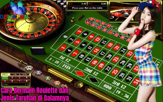 Cara Bermain Roulette dan Jenis Taruhan di Dalamnya