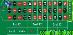 Column Inside Bet